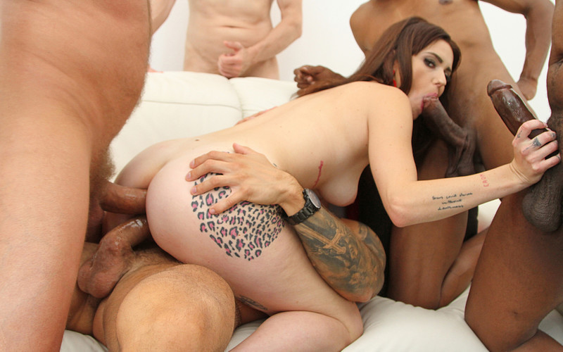 Charlotte Angie - First time double anal forCharlotte Angie(anal & DAP 5on1) SZ2714 [HD 720P]