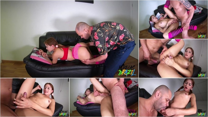 Sthefanny Sayury - The New Girl Sits on the Gifted and Takes a Cum Inside [UltraHD/4K 2160p]