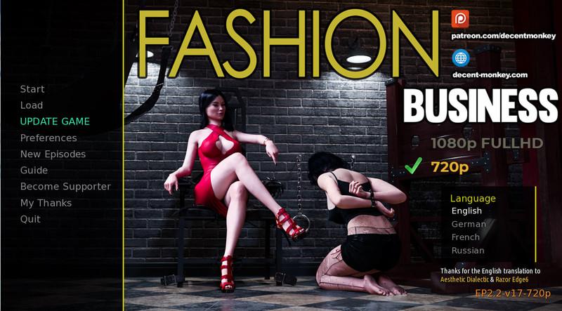 Fashion Business ( Episode 3 Version 6 Hotfix )