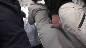 DANDY-642 Crowded Trains Tackled By Tight Skirts sc2