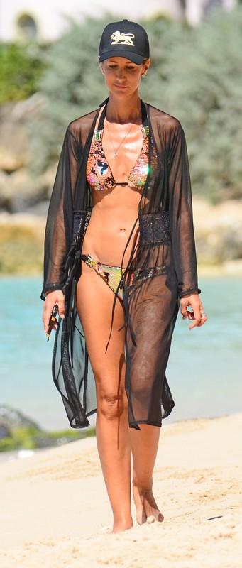 model milf Victoria Hervey in handsome bikini