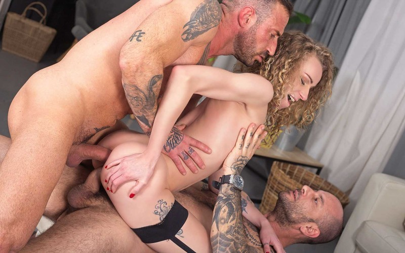 Angel Emily - Pounded In DP Threesome [FullHD 1080P]