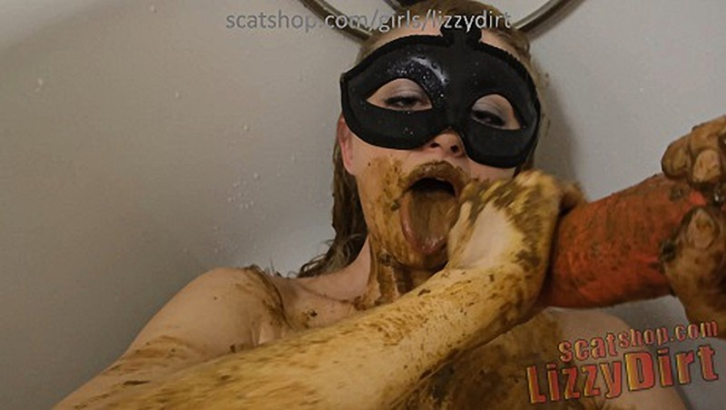 LizzyDirt - Extremely messy scat addicted mare [UltraHD/4K 2160P]