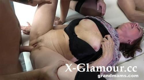 Belinda Bee, Koko, Olga, Renate, Yvette - Granny Orgy 2 (2021/HD)
