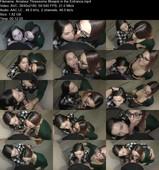 Laruna Mave - Amateur Threesome Blowjob in the Entrance (UltraHD/4K/1.82 GB)