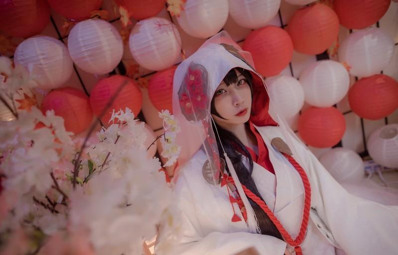 二佐Nisa - 高雄花嫁[112.6MB] 知名Coser-第1张