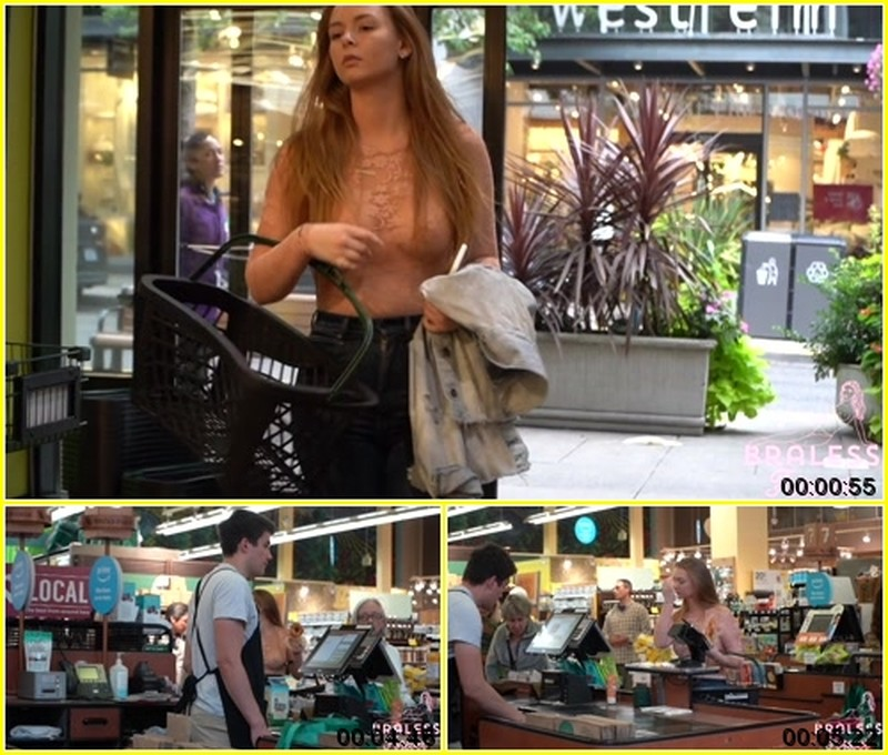Lily - Goes Grocery Shopping