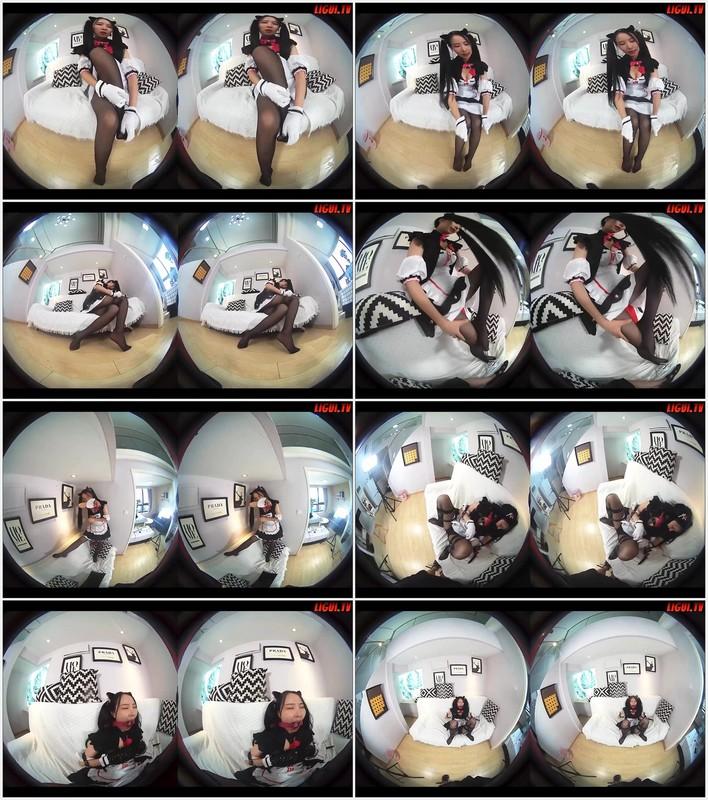 [Ligui丽柜] 2021.09.30 4K映像 VR视频 《猫娘乐园巧克力》 枫玥[278.5MB] Ligui丽柜-第2张