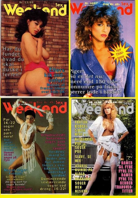 4 Magazines - Week-end Sex (1987-89) JPG