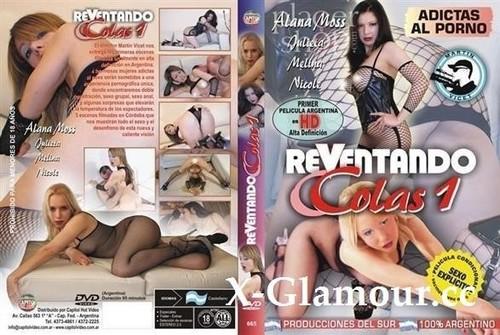 "Alana Moss, Julieta, Melina, Nicole in ""Reventando Colas 1"" [SD]"