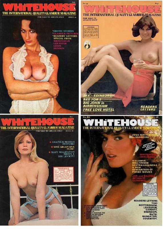 5 Magazines - Whitehouse (1970s) JPG